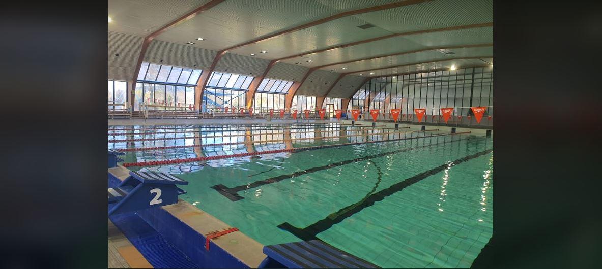 Aquatic centre indoor pools